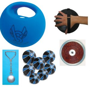 Discus training equipment